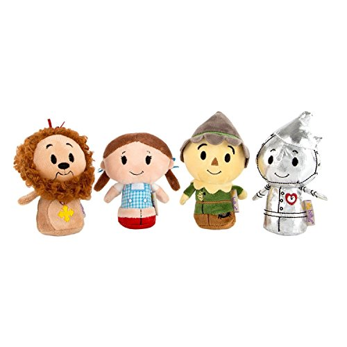 Wizard of Oz Itty Bitty Set of 4 Dorothy, Cowardly Lion, Scarecrow and Tin Man