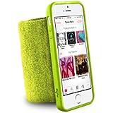 Puro Brassard running poignet avec coque de protection pour iPhone 5/5S/SE Anti humidité - Vert