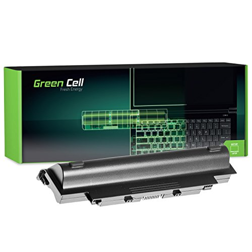 Green Cell Extended Serie J1KND Laptop Akku für Dell Inspiron 15R N5010 N5030 N5050/Q15R N5110/17R N7010 N7110 (9 Zellen 6600mAh 11.1V Schwarz)