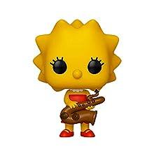 Figurines Pop! Vinyl: The Simpsons: Lisa w/ Saxophone