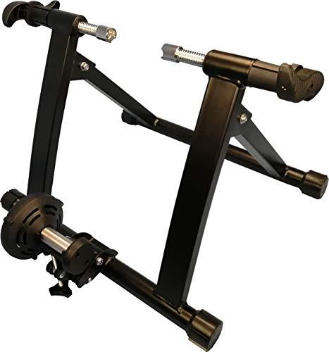 WANDERVOGEL Rollentrainer für Fahrrad Heimtrainer mit Magnetgerät zur Einstellung des Widerstands mit 5 Gänge für 26-28\'\' Faltbar ca.135 kg belastbar