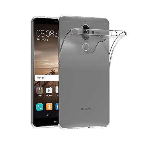 Huawei Mate 9 Hülle, AICEK Transparent Silikon Schutzhülle für Huawei Mate 9 5,9 Zoll Case Crystal Clear Durchsichtige TPU Bumper Huawei Mate 9 Handyhülle