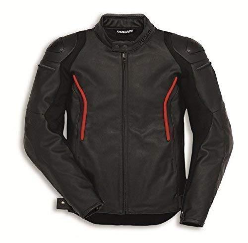 Ducati Dainese Lederjacke Stealth C2 Herren schwarz Größe 52