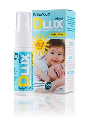 Better You D Lux Infant Vitamin D Oral Spray 15ml by BETTER YOU