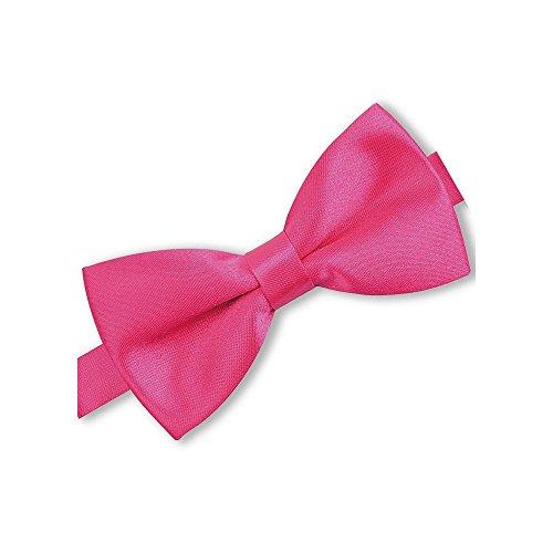 140a3a352e46f Noeud-papillon pré-noué fuchsia pour homme, rose-fushia