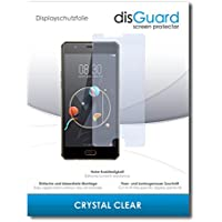 [2 Pack] ZTE Nubia M2 Lite Screen Protector Film disGuard® [Crystal Clear] Invisible, Transparent, Clear / Scratch Resistant, Bubble-Free Install, Anti-Fingerprint, Anti-Scratch / Film, Protector Film, Screen Guard