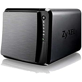 ZyXEL NAS542 1.2GHz DualCore 1GB 4Bay NAS Server - 24TB Bundle mit 4X 6TB WD60EFRX WD Red
