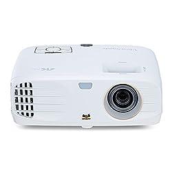 Viewsonic PX747-4K UHD Heimkino DLP Projektor (4K, 3.500 ANSI Lumen, 2x HDMI, 10 Watt Lautsprecher, 1.2x optischer Zoom, HDR) Weiß