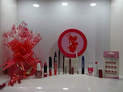 Vente ~ 16 pièces Maquillage Beauté Boîte cadeau ~ 16 x marques de produits de maquillage Mélange dans une boîte cadeau