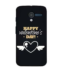 PrintVisa Designer Back Case Cover for Motorola Moto X :: Motorola Moto X (1st Gen) XT1052 XT1058 XT1053 XT1056 XT1060 XT1055 (Love Lovely Attitude Men Man Manly)