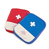 Vmore Multi-function Small Medical Kit Medication Storage Boxes First Aid Pouch