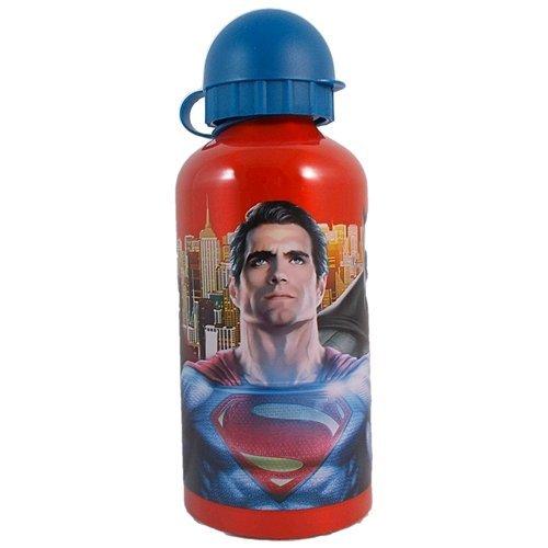 borraccia-batman-e-superman-marvel-sport-alluminio-con-beccuccio-ml-500-wa16006rosso