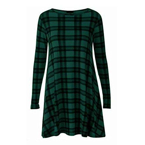 Fashion & Freedom Damen Kleid Grün