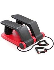 Fitness House FH Climber - Stepper, color negro / rojo