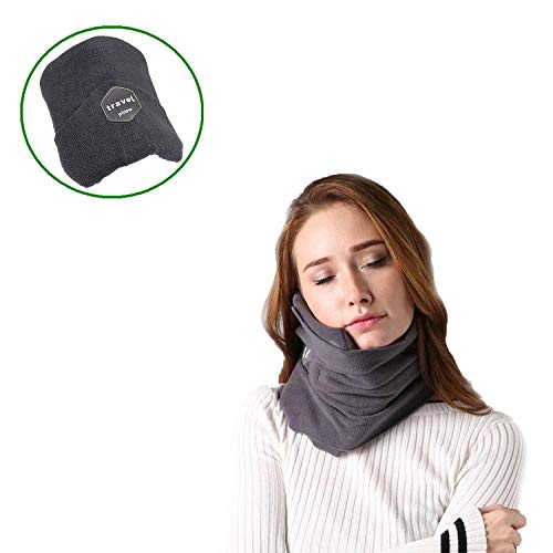 Cuscino da viaggio, efficient, cuscino con supporto ergonomico perfetto per lunghi viaggi dotato di tessuto traspirante, cuscini da viaggio, cuscino cervicale, cuscino per viaggio, cuscino collo