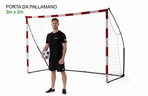 QUICKPLAY Tragbare Handballtore - Offizielle Torgrößen (3x2m)