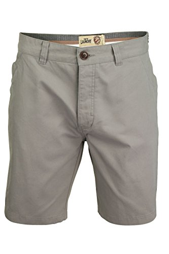 Tokyo Laundry Mens Chino Shorts by Volcanic' Cotton Twill