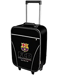 Karactermania FC Barcelona Equipaje Infantil, 46 cm, 26 Litros, Negro