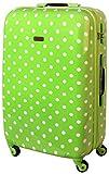 XL Hartschalen Koffer Trolley TSA Polycarbonat 85 Liter Grün 813/818