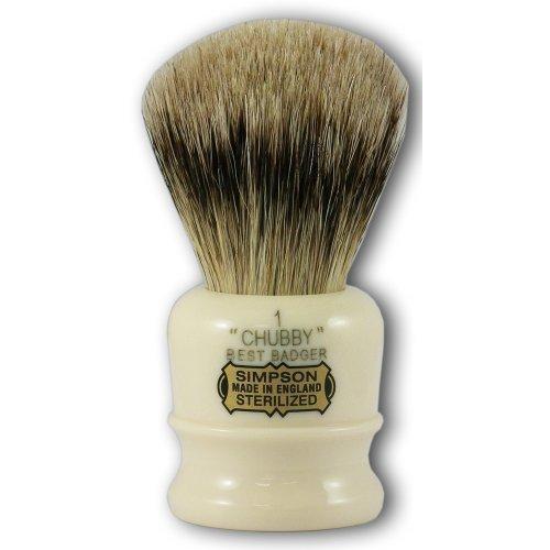 simpsons-chubby-1-best-badger-hair-shaving-brush-with-imitation-ivory-handle