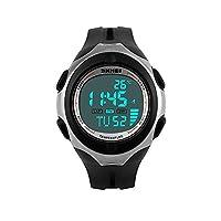 COLY SKMEI 50M Waterproof LCD Digital Boys Teenager Multifunctional Military Sports Watch