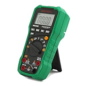 MASTECH MS8250B Auto Range Digital Multimeter Meter with USB Data Transfer and NVC (Refer to image for detail technial data) by MASTECH