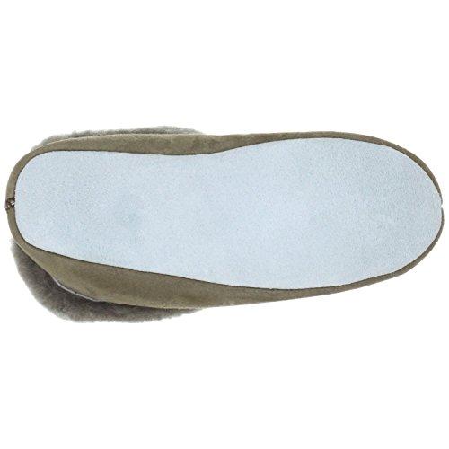 Shepherd MOA 724, Pantofole donna grigio (Stone)