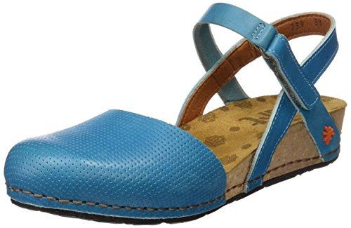 ART 0739 Mojave Pompei, Escarpins Femme Bleu (Total Albufera)