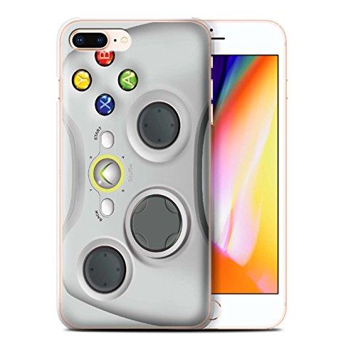 Custodia/Cover Rigide/Prottetiva STUFF4 stampata con il disegno Console di gioco per Apple iPhone 5C - Super Nintendo Bianco xbox 360