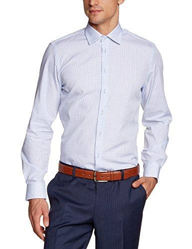 Daniel Hechter Herren Loose Fit Businesshemd Hemd-1/1-Kent 10200 55981 Blau (nightblue 61)