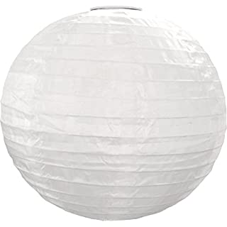 Allsop Haus und Garten, rund, 25,4cm Soji Solar Laterne White with Amber LED