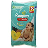 Pampers New Diapers Pants, Small, 2 Count