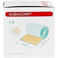 NOBACOMP® kohäsive Schaumgummi-Binde 4,5 m, Größen:8 cm preisvergleich bei billige-tabletten.eu