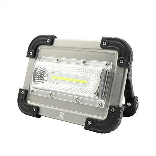 Blendung LED-Suchscheinwerfer tragbare Campingleuchte COB Arbeitsleuchte USB-Ausgang wiederaufladbare Multifunktions-Campingleuchte