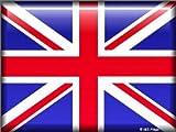 FRANZOSICH VINTAGE METALL BLECHSCHILD 20X15cm ENGLISCHE FLAGGE UNION JACK