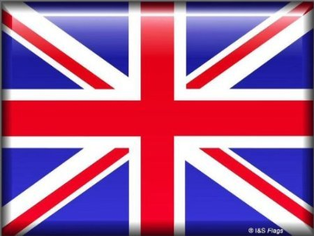 TARGA METALLICA 20X15 CM BANDIERA INGLESE UK UNION JACK LONDRA
