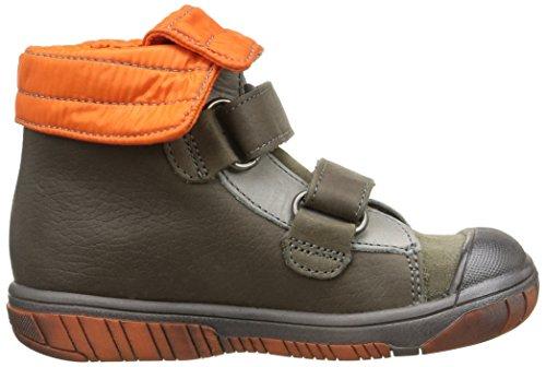 Babybotte Artisnow1, Sneakers Hautes garçon Marron (403 Kaki/Orange)