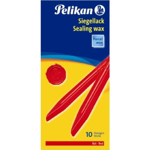 Pelikan 361220 - Siegellack 60 / 10 rot
