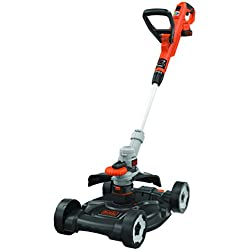 Black & Decker STC1820CM Outil 3 en 1 Coupe-bordure/Tondeuse/Dresse-bordure sans fil 30 cm