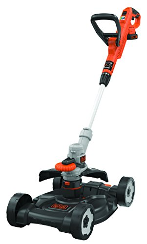 Black + Decker STC1820CM Outil 3 en 1 Coupe-bordure/Tondeuse/Dresse-bordure sans fil 28 cm
