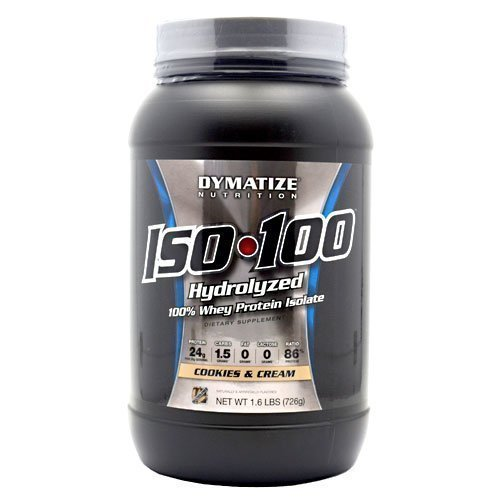 Dymatize ISO-100 Cookies & Cream 1.6lb Protein Isolate by Dymatize