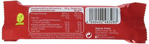 Veganz Bio Protein Bar Sweet Peanut, 6er Pack (6 x 45 g) - 5