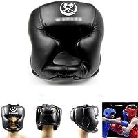 Estone Black New Good Headgear Head Guard Trainning Helmet Kick Boxing Pretection Gear