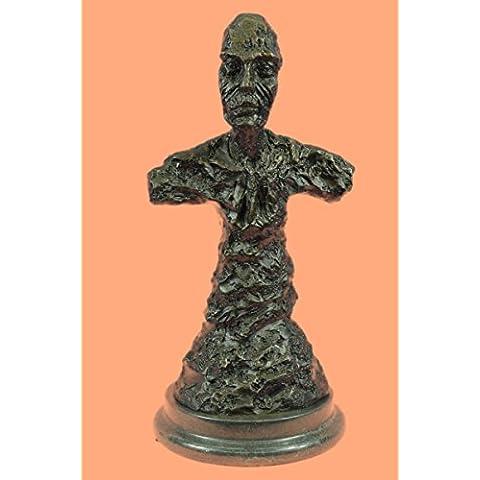 Statua di bronzo Scultura...Spedizione Gratuita...Firmato arte moderno Nude Male Decor Busto(DS-492-EU)Statue Figurine Figurine Nude per ufficio e casa Décor Primo Giorno Collezionismo Articoli da