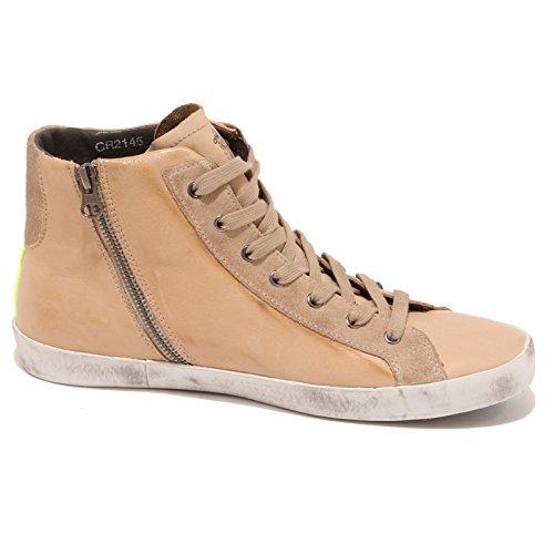 1651P sneaker uomo CRIME beige scarpa shoe men Beige