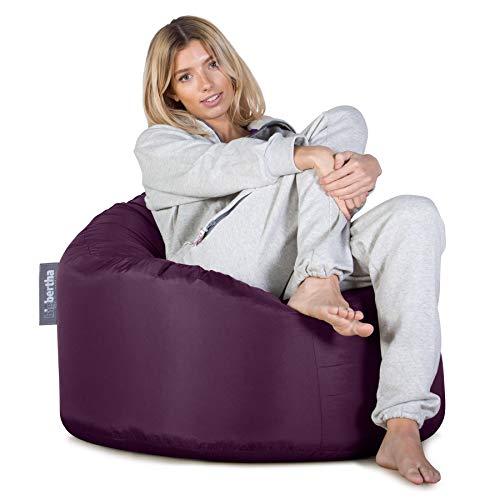Big Bertha Original groß Erwachsene/Kinder Garten/Outdoor/Home Sitzsack, 70x 70x 90cm, violett