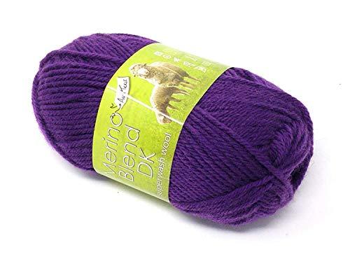 4 X Merino Violet 100% Pur Superwash. Pilule Tickle Double Crochet 50g Boule de Wool