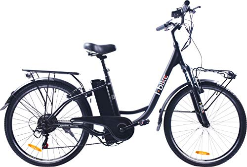 i-Bike City Easy Bicicletta Elettrica Unisex -...