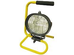 Faithfull SL500CP Portable Sitelight 500 Watt (230 Volt)