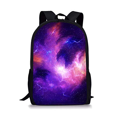 POLERO Galaxy Universe Printed Vorschulrucksack für Kinder Jungen Kleinkind Rucksack Kindergarten Schule Bookbags -